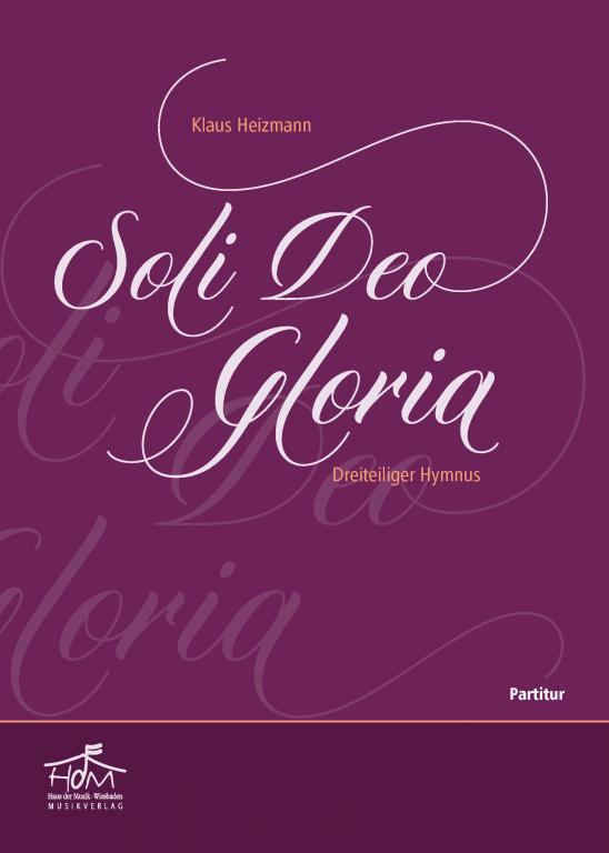 Soli Deo Gloria - (Partitur)