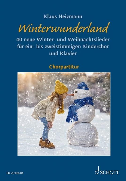 Winterwunderland - Chorpartitur