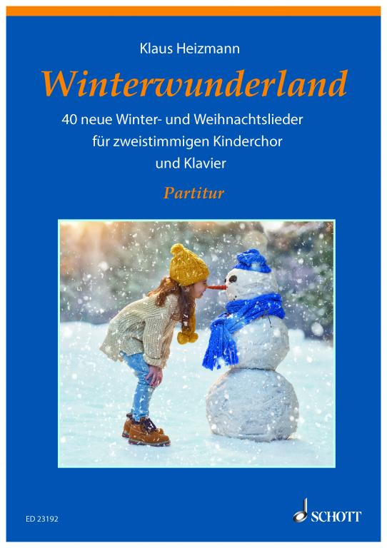 Winterwunderland - Partitur