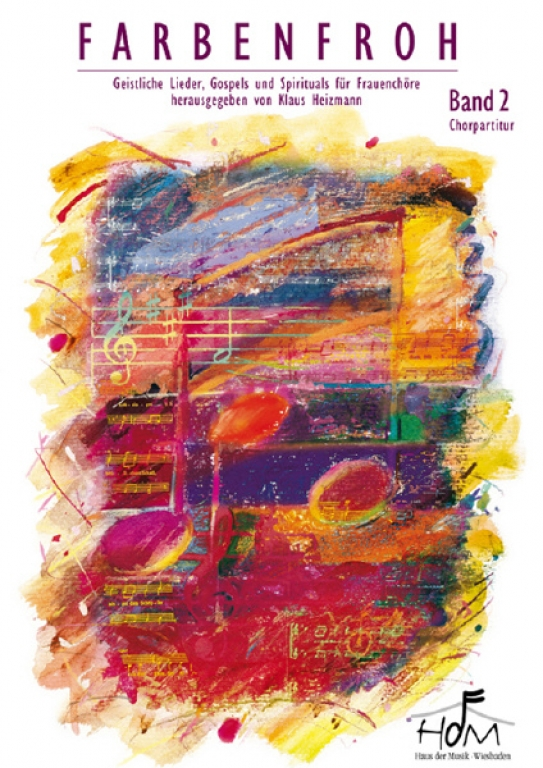 Farbenfroh Band 2 - (Chorpartitur)