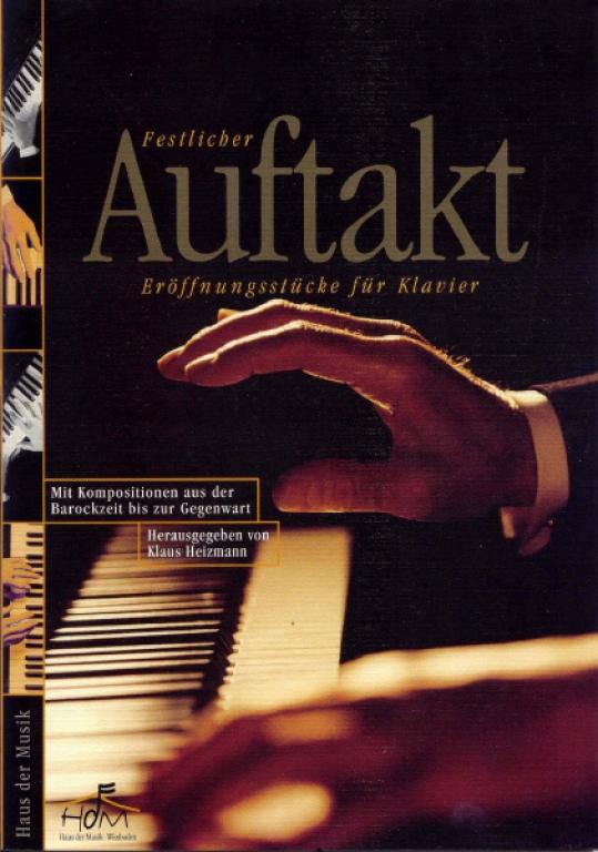 Festlicher Auftakt - Band 1 - (Klavierbuch)