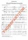 Gloria! Hosanna in excelsis (Partitur - Chorsatz mit Klavierbegleitung und Flöte)