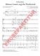 Kleines Lamm, sagt der Nachtwind (Partitur - Chorsatz mit Klavierbegleitung)