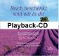 Reich beschenkt sind wir in dir - (Playback CD)